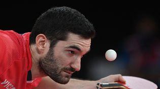Les Français affrontent les Hongkongais, en huitième de finale du tournoi masculin par équipe. (ADEK BERRY / AFP)
