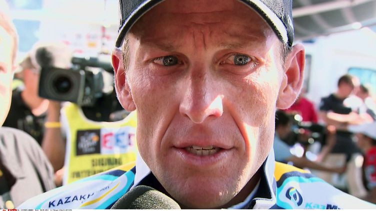 """Photo de Lance Armstrong extraite du documentaire """"The Armstrong Lie"""". (MARYSE ALBERTI/AP/SIPA/SONY PICTURES CLASSICS)"""