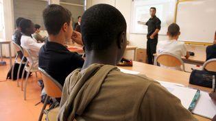 Un collège strasbourgeois en Zone d'éducation prioritaire (ZEP), le 12 octobre 2006. (  MAXPPP)