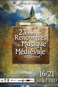 Rencontres Internationales de Musique Médiévale du Thoronet