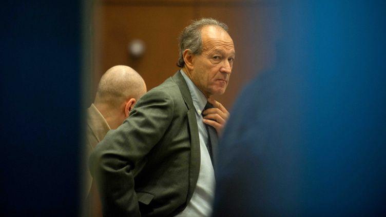 Thierry Gaubert, ancien collaborateur de Nicolas Sarkozy, est jugé jusqu'au 17 février 2012 à Nanterre(Hauts-de-Seine) pour une affaire de détournement de fonds issus du 1% logement. (FLORENT DUPUY / SIPA)