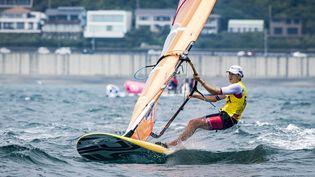 Charline Picon apporte une quinzième médaille à la France. (AGENCE KMSP / KMSP)