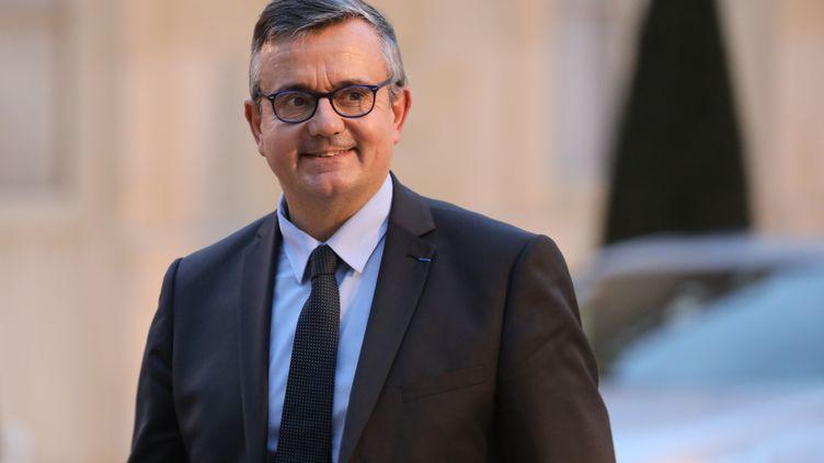 Le député UDI Yves Jégo à l'Elysée, à Paris, le 30 janvier 2018. (LUDOVIC MARIN / AFP)