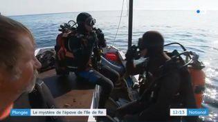 Plongée : le mystère de l'épave de l'Ile de Ré (FRANCE 3)