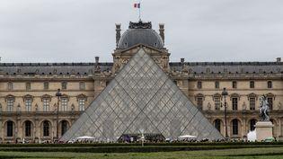 Le musée du Louvre, le 7 juin 2019. (MAUD DUPUY / HANS LUCAS / AFP)