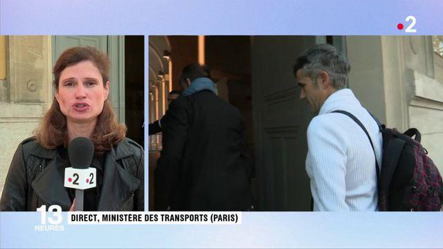 SNCF : les syndicats de cheminots reçus au ministère des Transports