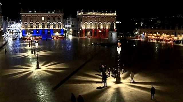 La place Stanislas de Nancy, la nuit  (France 3)