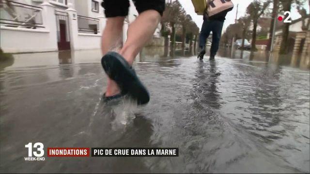 Inondations en Seine-Saint-Denis : pic de crue dans la Marne