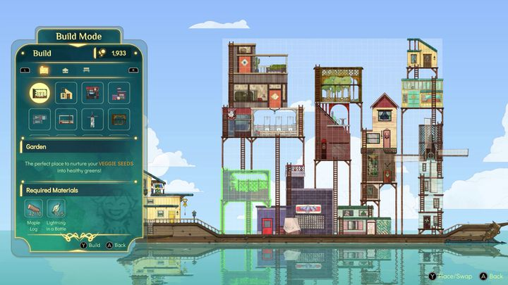 'Spiritfarer' vous demandera d'améliorer votre bateau : maison, jardin, moulin... Tout doit être aménagé pour le bien-être de ses habitants. (Thunder Lotus Games)