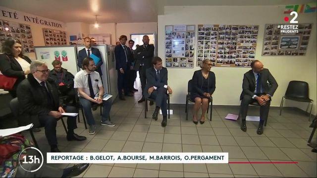 Violences policières : Édouard Philippe et Christophe Castaner dialoguent avec les forces de l'ordre
