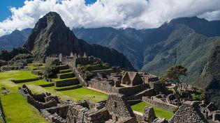 Le site des ruines incas du Machu Picchu, au Pérou, le 14 mai 2017. (HENN PHOTOGRAPHY / CULTURA CREATIVE / AFP)