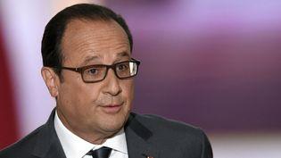 Le président François Hollande le 7 septembre 2015.  (Alain Jocard / AFP)