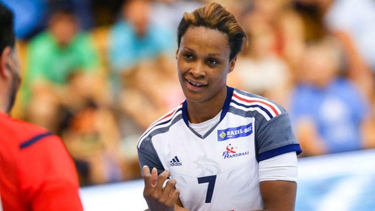 La joueuse tricolore Allison Pineau