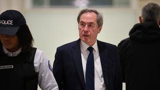 Claude Guéant a été condamné à un an de prison ferme dans l'affaire des primes en liquide au ministère de l'Intérieur. (ERIC FEFERBERG / AFP)
