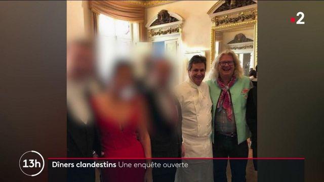 Dîners clandestins à Paris : une enquête est ouverte