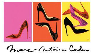 """Exposition """"Icons"""" à l'Alfalibra Galerie à Paris : les chaussures Louboutin croquées par Marc-Antoine Coulon (MARC-ANTOINE COULON)"""