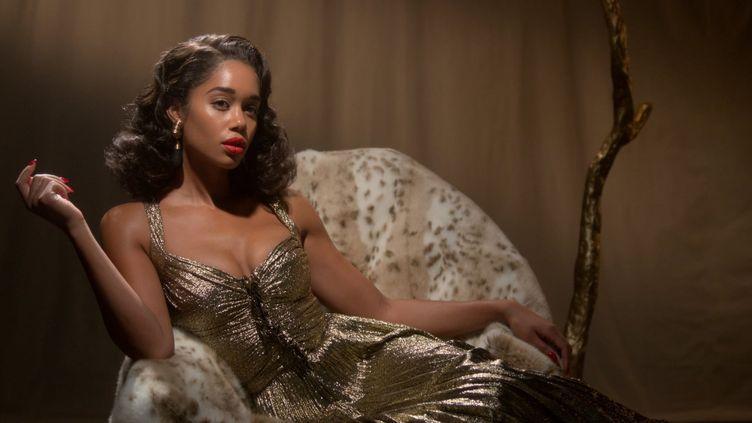 Laura Harrier interprète Camille Washington, jeune actrice afro-américaine qui va se battre pourimposerson talent, dans un écosystème imprégné de racisme. (NETFLIX)