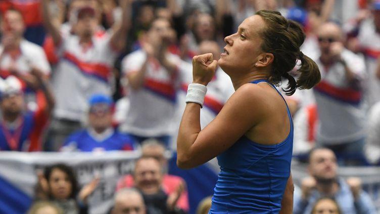 Barbora Strycova a apporté le point décisif à la République Tchèque