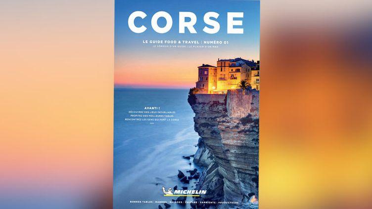 Le premier numéro de la nouvelle collection éditée par le guide Michelin, qui allie tourisme et gastronomie est consacré à la Corse.  (DR)