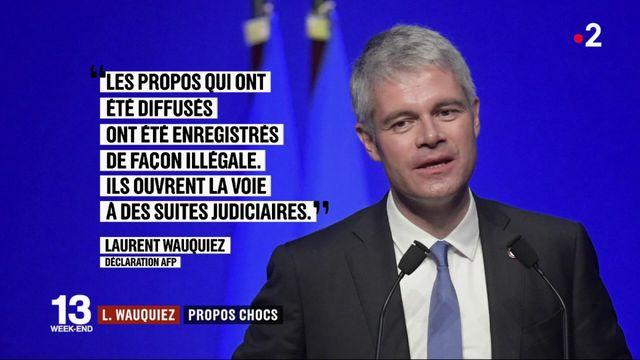 Les propos chocs de Laurent Wauquiez