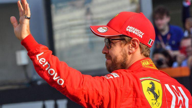 Sebastian Vettel quitte Ferrari (GIUSEPPE CACACE / AFP)