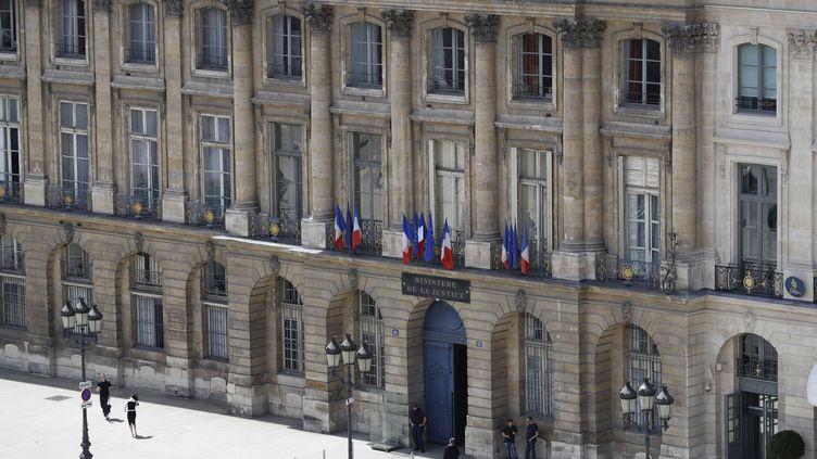 Le ministère de la Justice à Paris, le 16 juin 2017. (PATRICK KOVARIK / AFP)