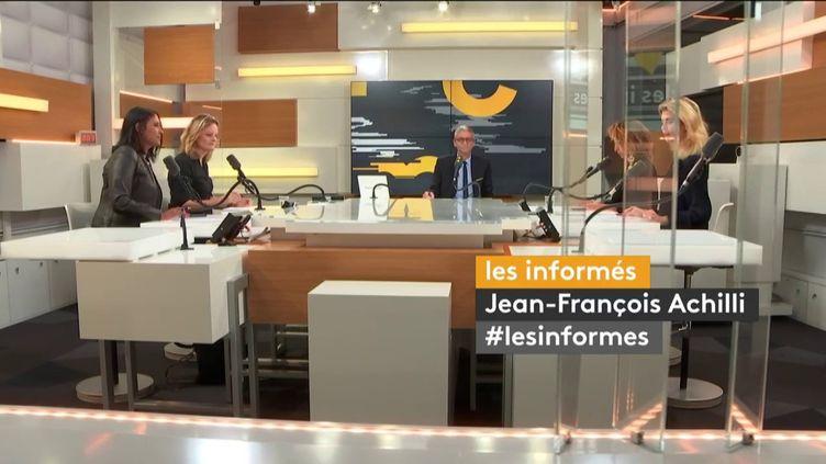 Les informés de franceinfo du mardi 1er octobre 2019. (FRANCEINFO / RADIO FRANCE)
