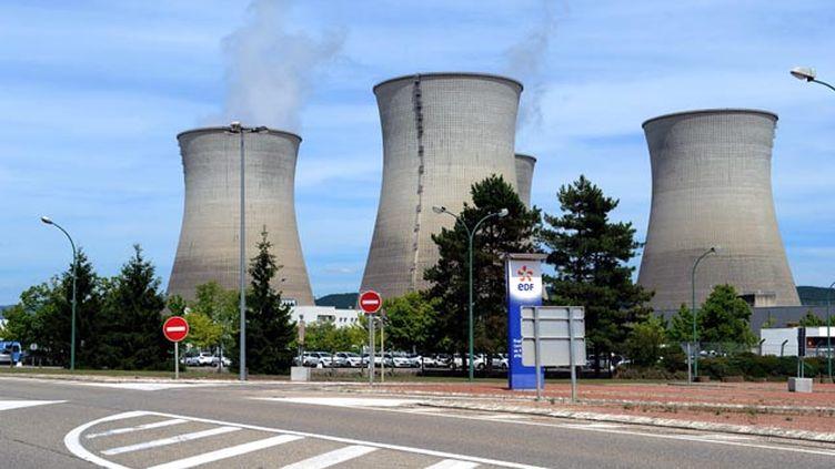 (La centrale nucléaire du Bugey, dans l'Ain, l'un des 19 sites nucléaires français © Maxppp)