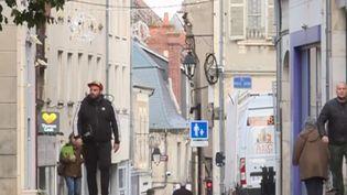 Une rue de Bourges (Cher) (Capture d'écran FRANCE 3)