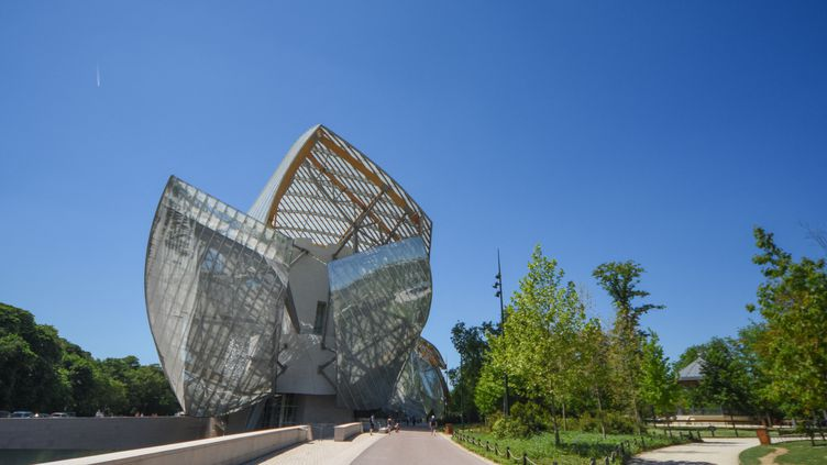 La Fondation Louis Vuitton, le 7 mai 2018 (SANDRINE MARTY / HANS LUCAS)