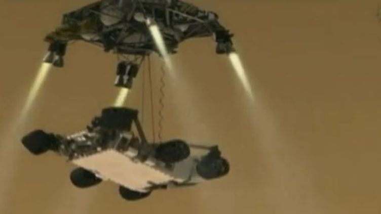 Le robot Curiosity qui visitera la planète Mars (NASA)