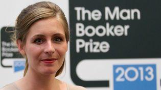 """Eleanor Catton, lauréate du prestigieux Man Booker Prize 2013 pour son roman """"The Luminaries""""  (Andrew Cowie / AFP)"""