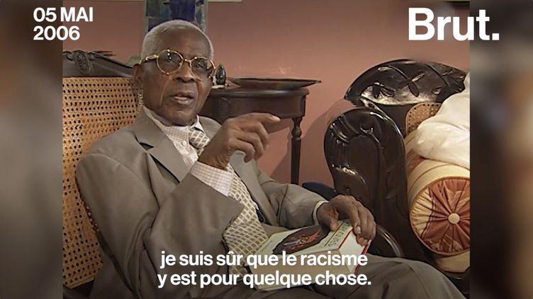 """VIDEO. Traité de """"petit nègre"""", voilà comment répondait Aimé Césaire... (BRUT)"""
