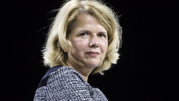 Sylvine Thomassin, maire socialiste sortante de Bondy, n'a pas été réélue dimanche 28 juin 2020. (VINCENT ISORE / MAXPPP)