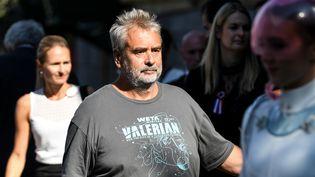 Luc Besson le 12 septembre 2018 en Allemagne  (PATRICK SEEGER / DPA)