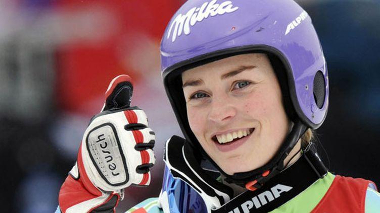 La skieuse slovène Tina Maze