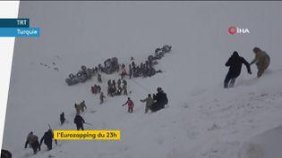 Avalanche meurtrière en Turquie (FRANCEINFO)