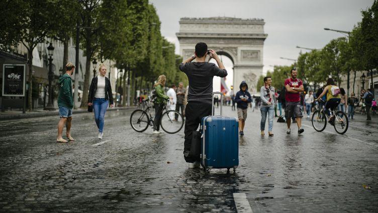 La journée sans voitures à Paris, le 25 septembre 2016. (MAXPPP)