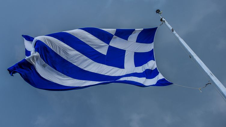 La police grecque a annoncé le 9 novembre 2019 avoir arrêté trois personnes impliquées dans des groupes terroristes d'extrême gauche. (LAURIE DIEFFEMBACQ / BELGA MAG / AFP)