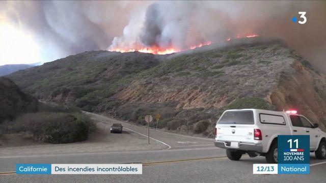 Californie : incontrôlables, les incendies font 23 morts