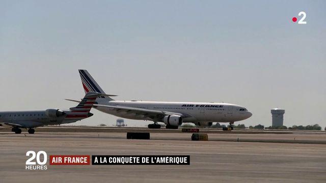 Air France : à la conquête de l'Amérique