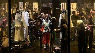 Défilé Gucci pap automne-hiver 2020-21 à la Fashion Week de Milan le 19 février 2020, en Italie (MIGUEL MEDINA / AFP)