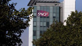 Le siège de la SNCF, le 15 septembre 2017, à Saint-Denis (Seine-Saint-Denis). (MAXPPP)