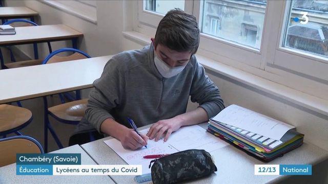 Éducation : être lycéen en temps de Covid