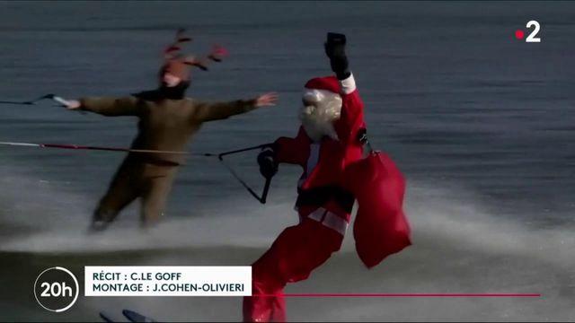 Le Père Noël a vécu une nuit de folie