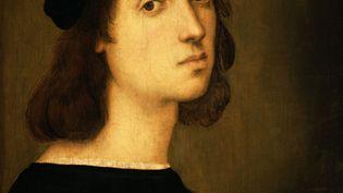 Autoportrait de Raphaël, vers 1503-1504, Florence, Galerie des Offices (ALFREDO DAGLI ORTI / PHOTO12 VIA AFP)