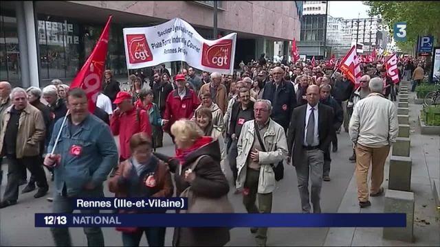 Loi Travail : à Rennes, syndicats et étudiants se sont élancés dans le calme