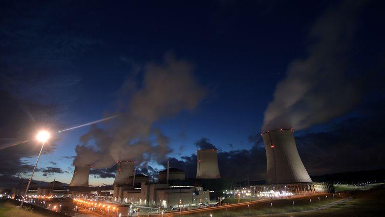 La centrale nucléaire de Cattenom, le 18 novembre 2018. (PATRICK HERTZOG / AFP)