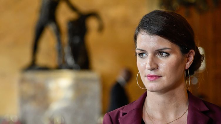 Marlène Schiappa, octobre 2017  (Getty Images)