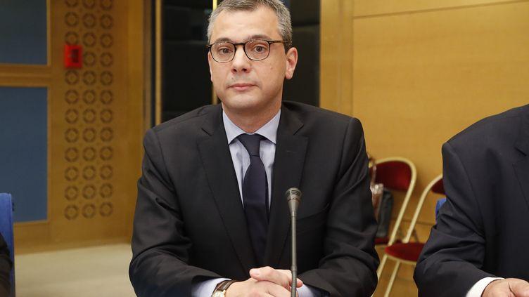 Le secrétaire général Alexis Kohler, le 26 juillet 2018 au Sénat, à Paris. (FRANCOIS GUILLOT / AFP)